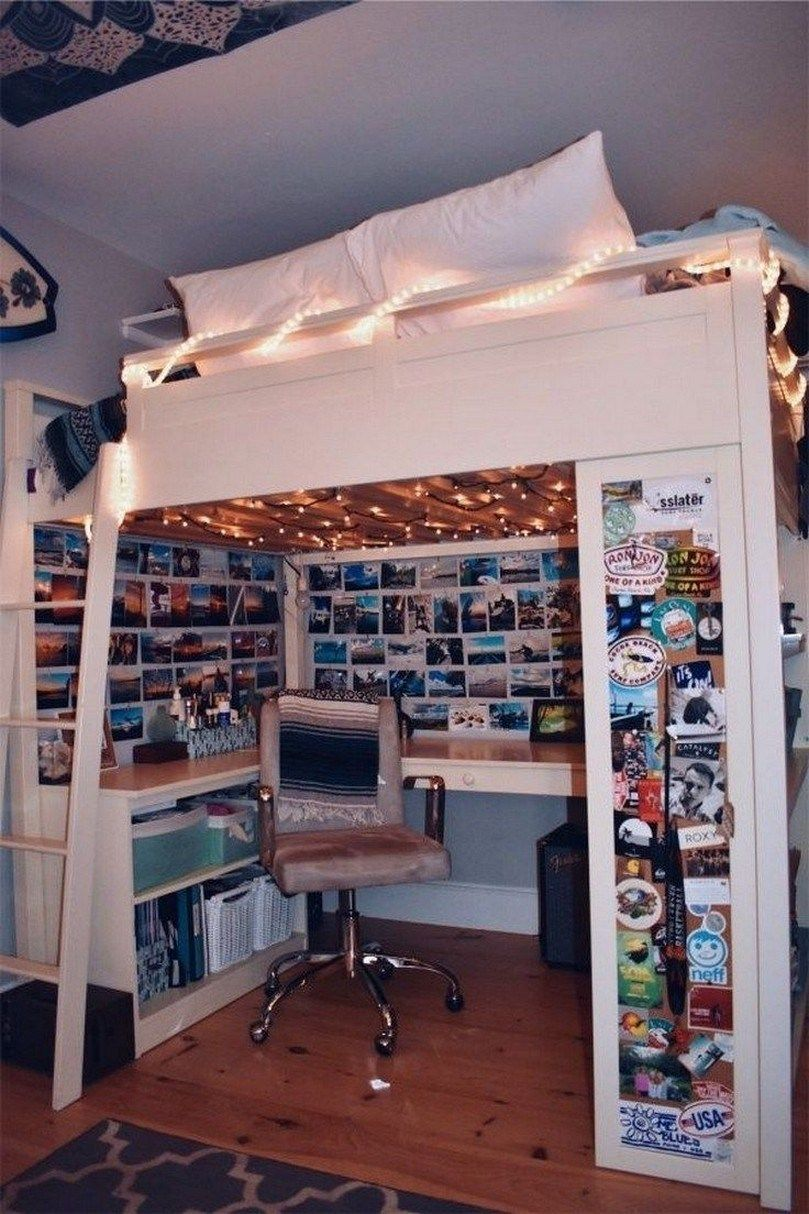 ✔ 57 decoration ideas to personalize your dorm room with 2 images