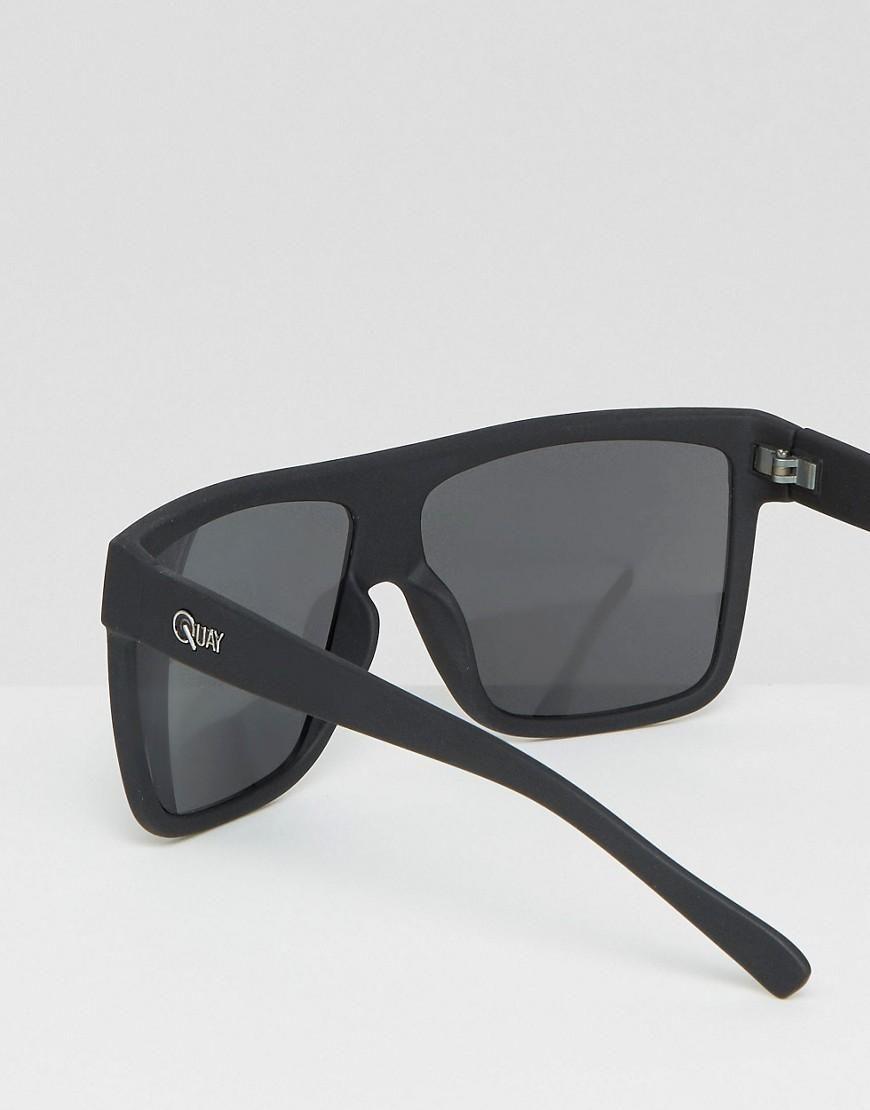 adb7c6be78e Quay Australia Barnun oversized smoke lens sunglasses