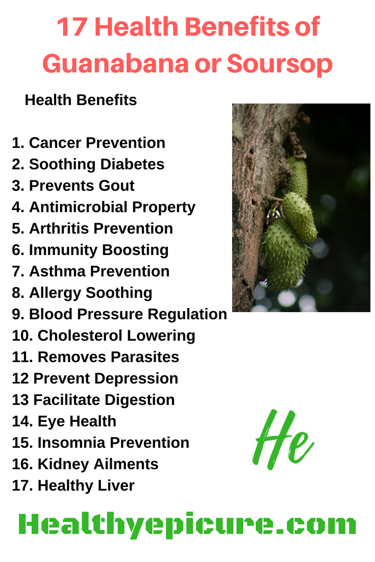 17 health benefits of guanabana or soursop | vegetables