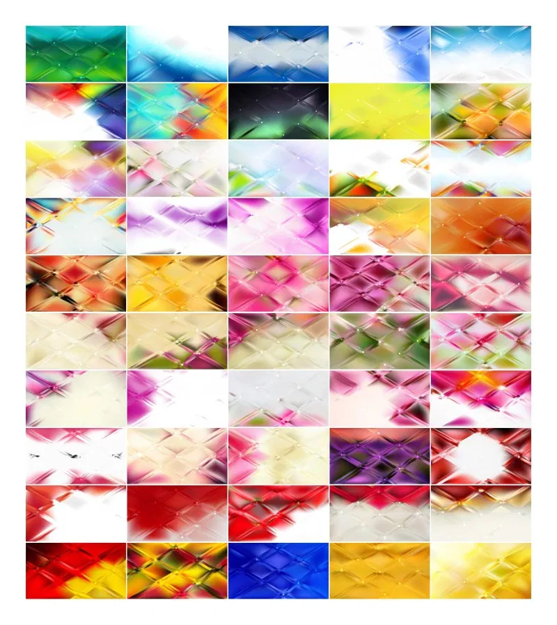 50 Abstract Background Vector Illustrator Pack (With