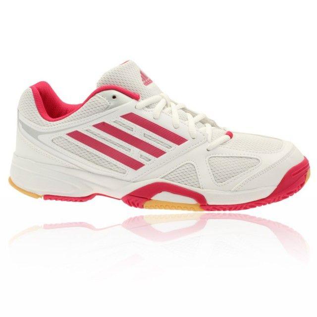 new concept e415c 5a0e6 Adidas Opticourt Ligra 2 Women - White Red