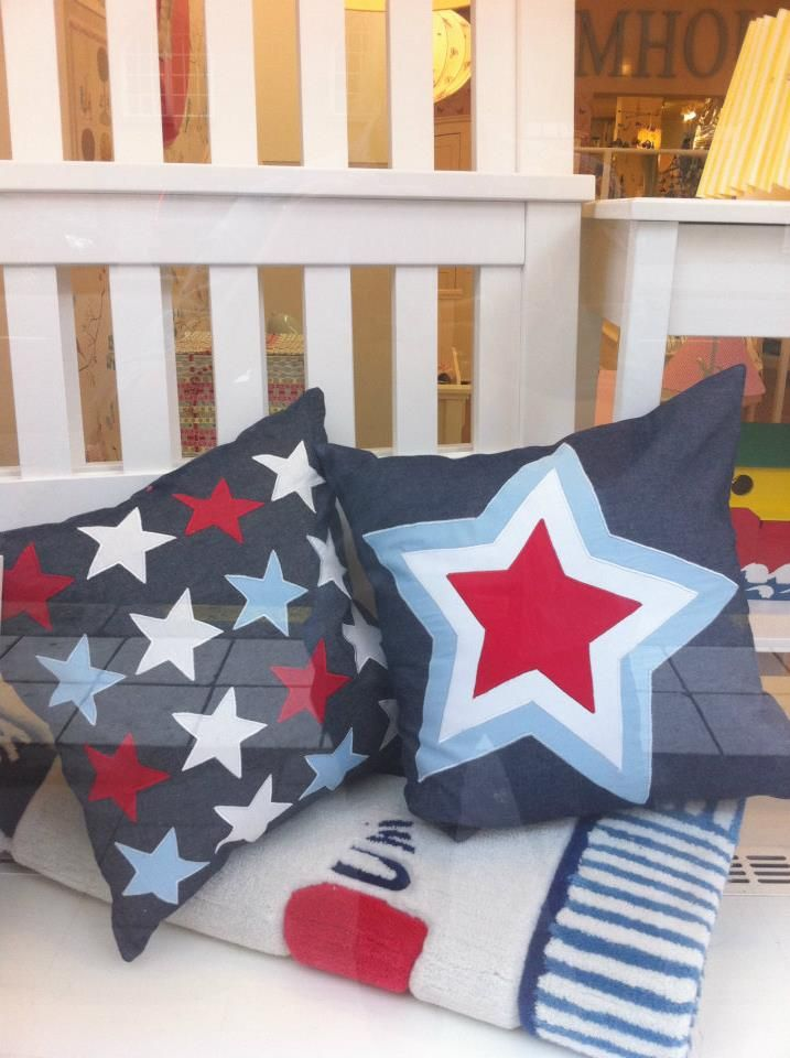 Window Display Farmouse City Close Up Cushions Baby Face