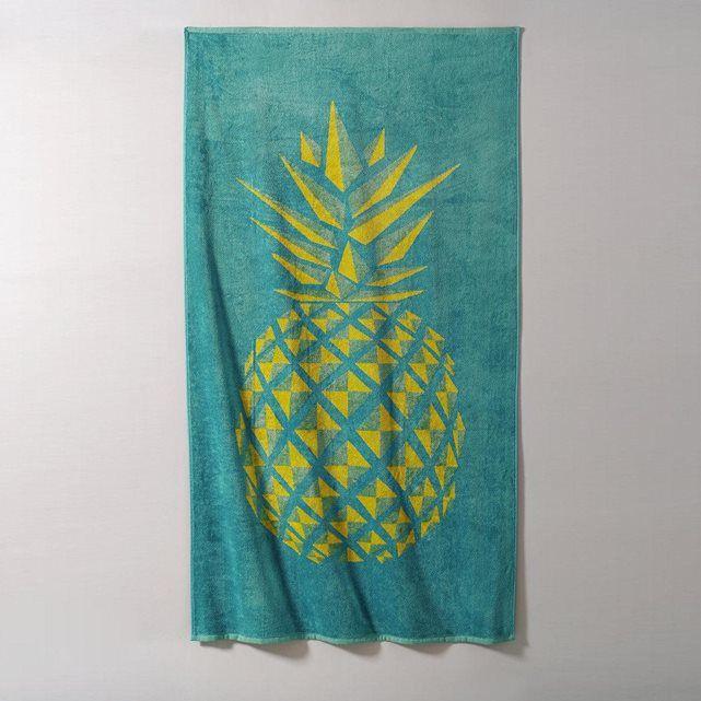 drap de plage ananas la redoute interieurs prix avis notation livraison le drap de plage. Black Bedroom Furniture Sets. Home Design Ideas