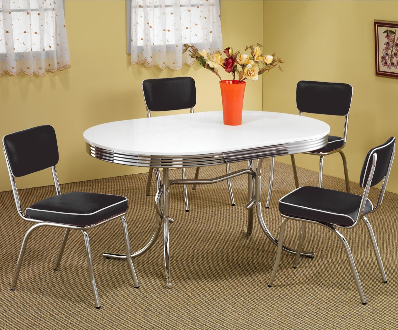 9++ Retro dining table info   LivingRoomReference