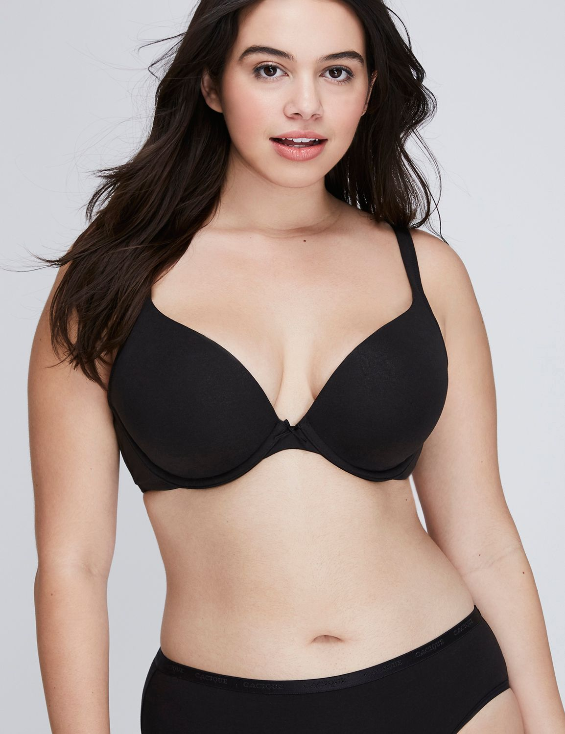 a33205774946a Cotton Boost Plunge Bra