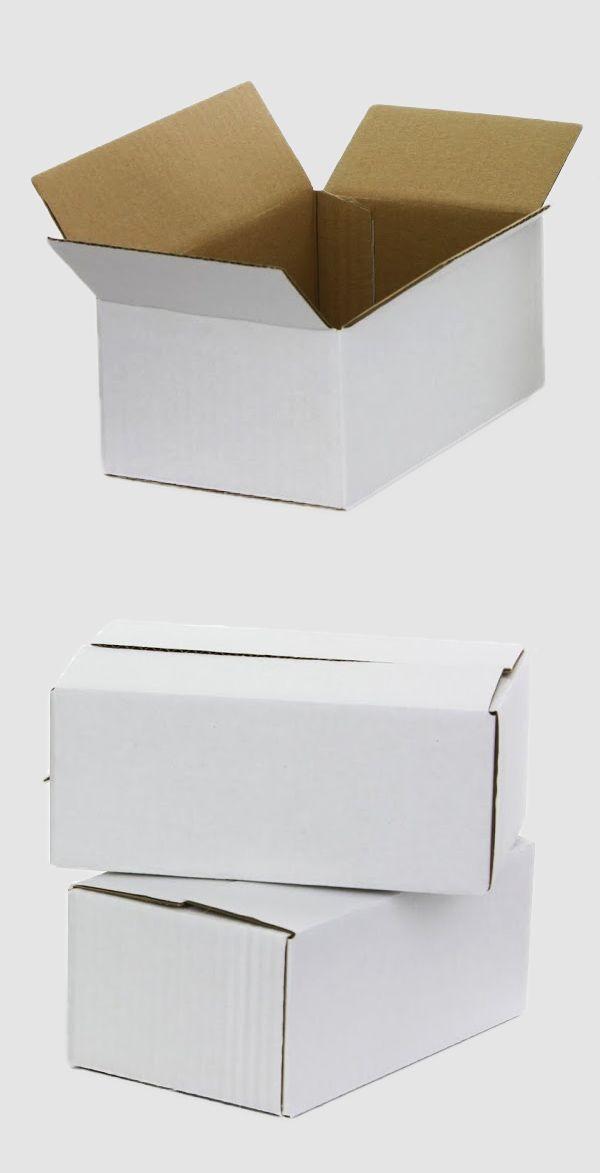 details zu 200x120x80 mm weiss klappdeckel karton versand versandschachtel neu faltkartons. Black Bedroom Furniture Sets. Home Design Ideas