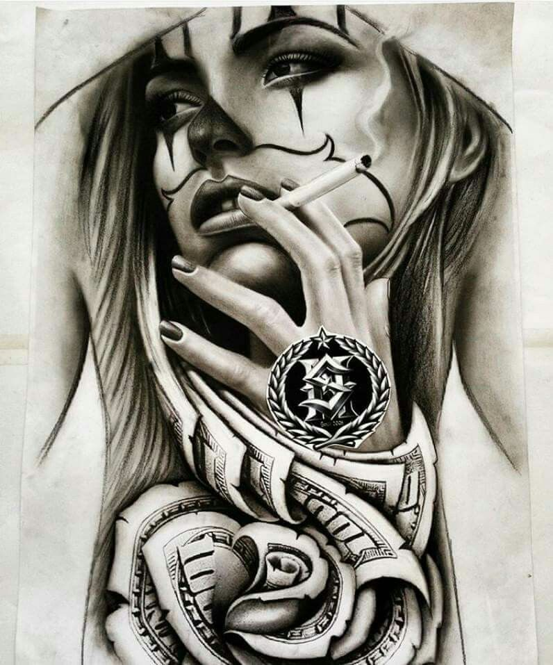 Pin von robin auf tattoos | Tattoos, Chicano tattoos und ...