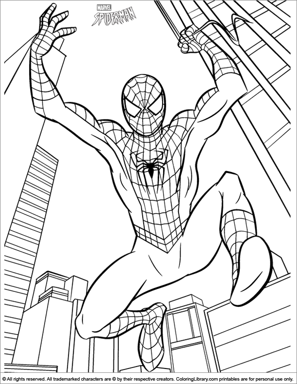 Spider Man Coloring Picture Superhero Coloring Pages Avengers Coloring Pages Avengers Coloring