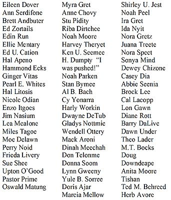 Halloween Tombstone Name Ideas Might Be Fun In The Classroom Too To See Who Can Figure Out The Most