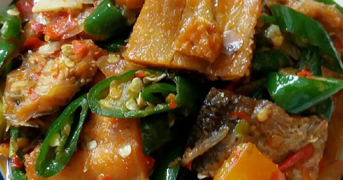 Resep Ikan Asin Pedas Manis Oleh Susan Mellyani Resep Resep Ikan Resep Ayam Goreng
