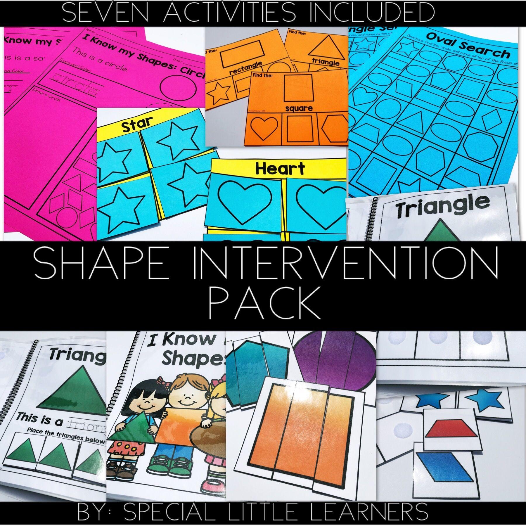 Hands On Shape Intervention Pack