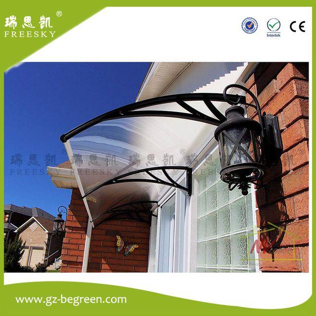 Yp60160 60x160cm 60x240cm 60x320cm Freesky Ploycarbonate Awning Pc Window Door Canopy Window Cover Retractable Window Coverings Door Canopy Retractable Awning