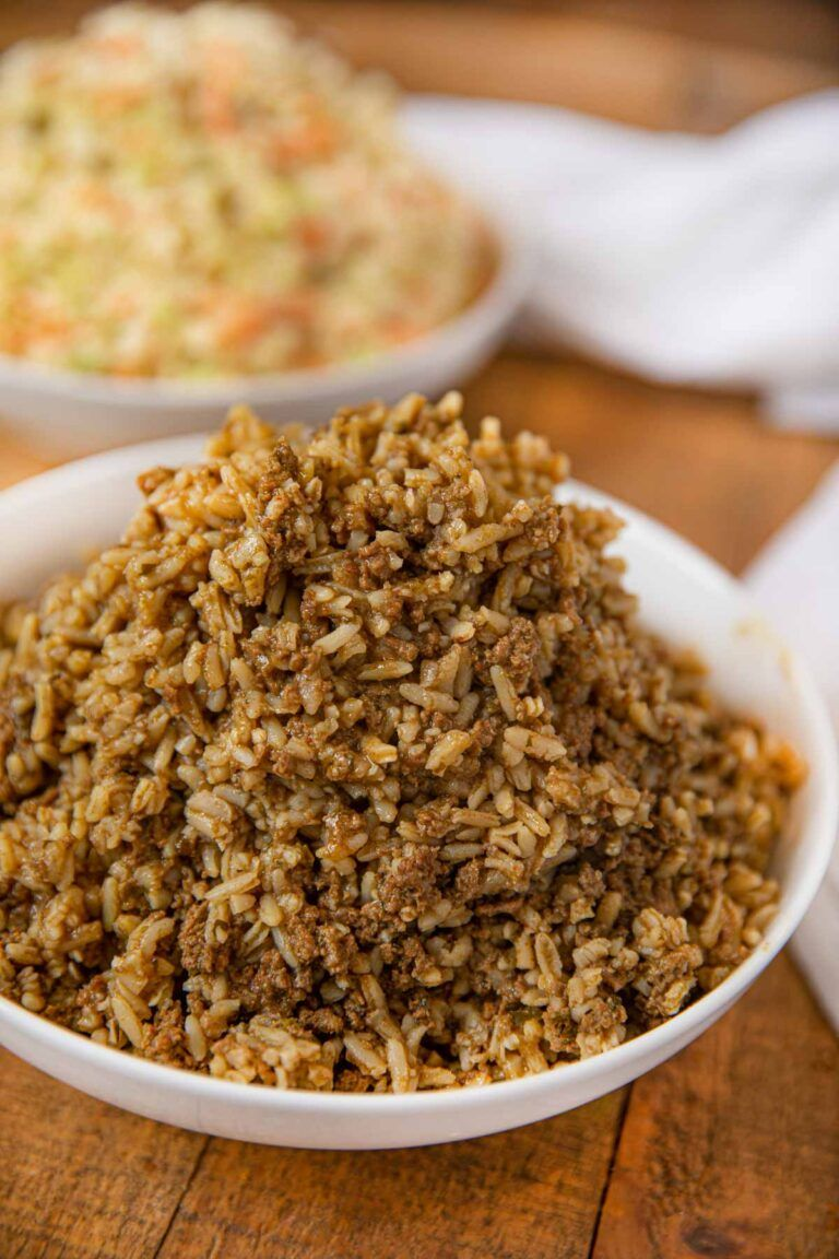Popeye's Cajun Rice Recipe (Copycat) - Dinner, then Dessert #seasonedricerecipes