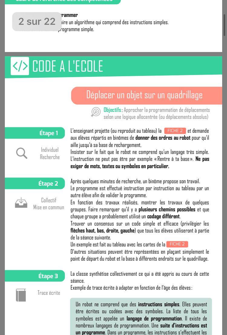 Epingle Par Laurent Touche Sur Coder Programme Algorithme Enseignement