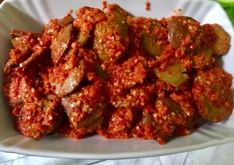 Resep Jengkol Balado Super Pedes Oleh Arini Resep Resep Makanan Asia Makanan Dan Minuman Resep