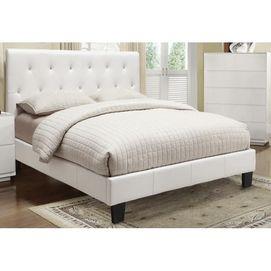worldwide hf glitz queen bed white sears