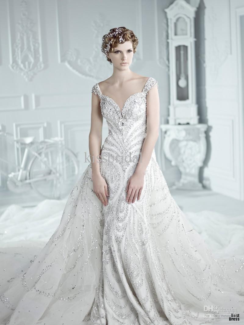1000  images about wedding dress on Pinterest   Elegant wedding ...