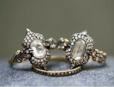 Antique rings...so beautiful.