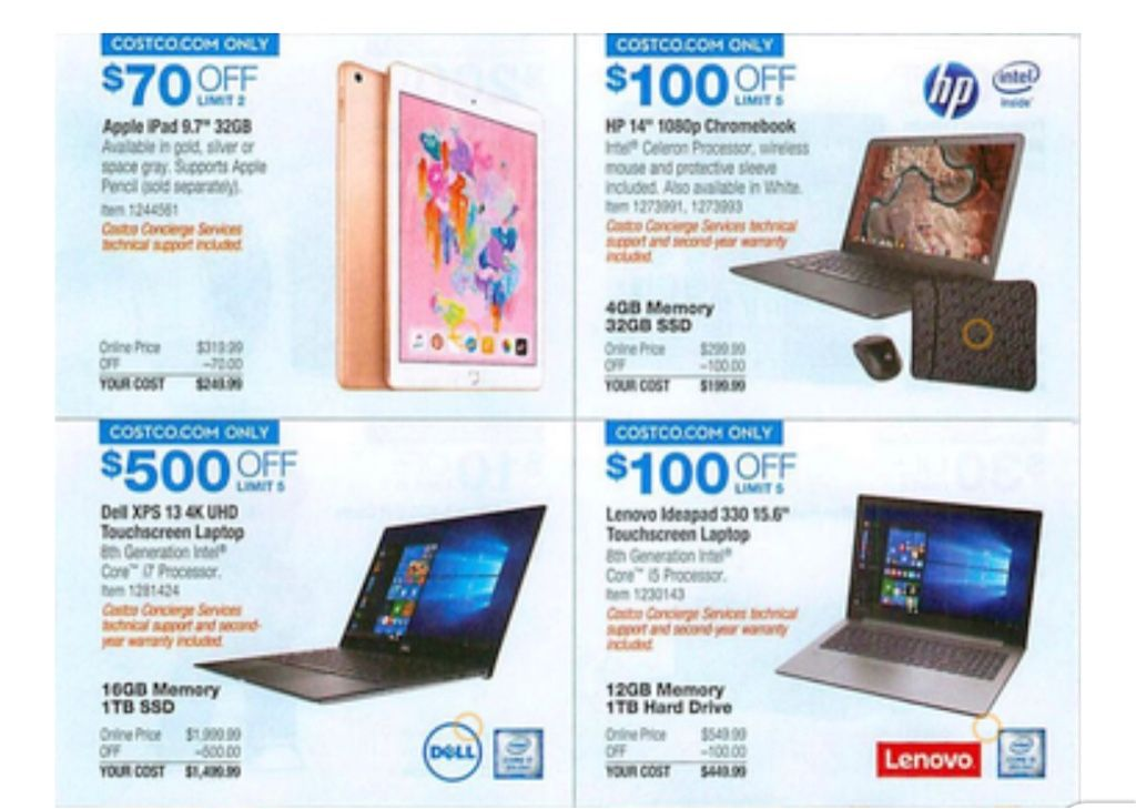 Costco Black Friday Deals Have Arrived A Complete Surface Pro Bundle For 800 Apple S Latest Ipad For 250 Costco Blackfriday Latest Ipad Dyson Costco
