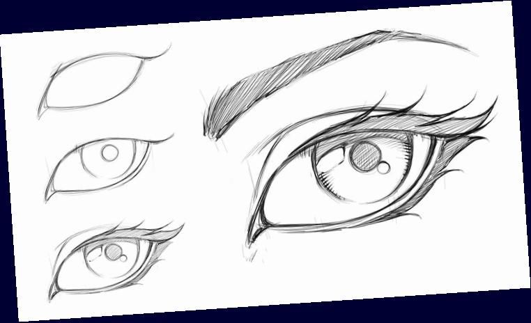 : How to Draw a Comic Style Female Eye - Step by Step -  How to Draw a Comic Style Female Eye – Step by Step  - #Artists #ceramics #comic #ComicsAndCartoons #draw #eye #female #Pottery #Step #style