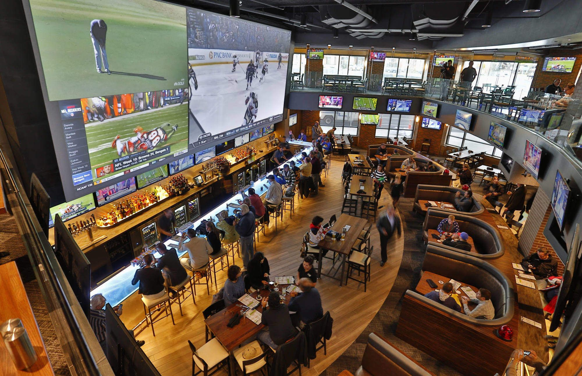 The Best Sports Bar in Every NFL City Sports bars, Bar