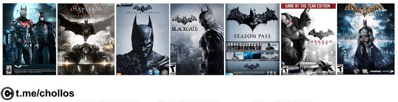Toda la saga Batman para PC  DLC por sólo 829 - http://ift.tt/2jUuhzJ