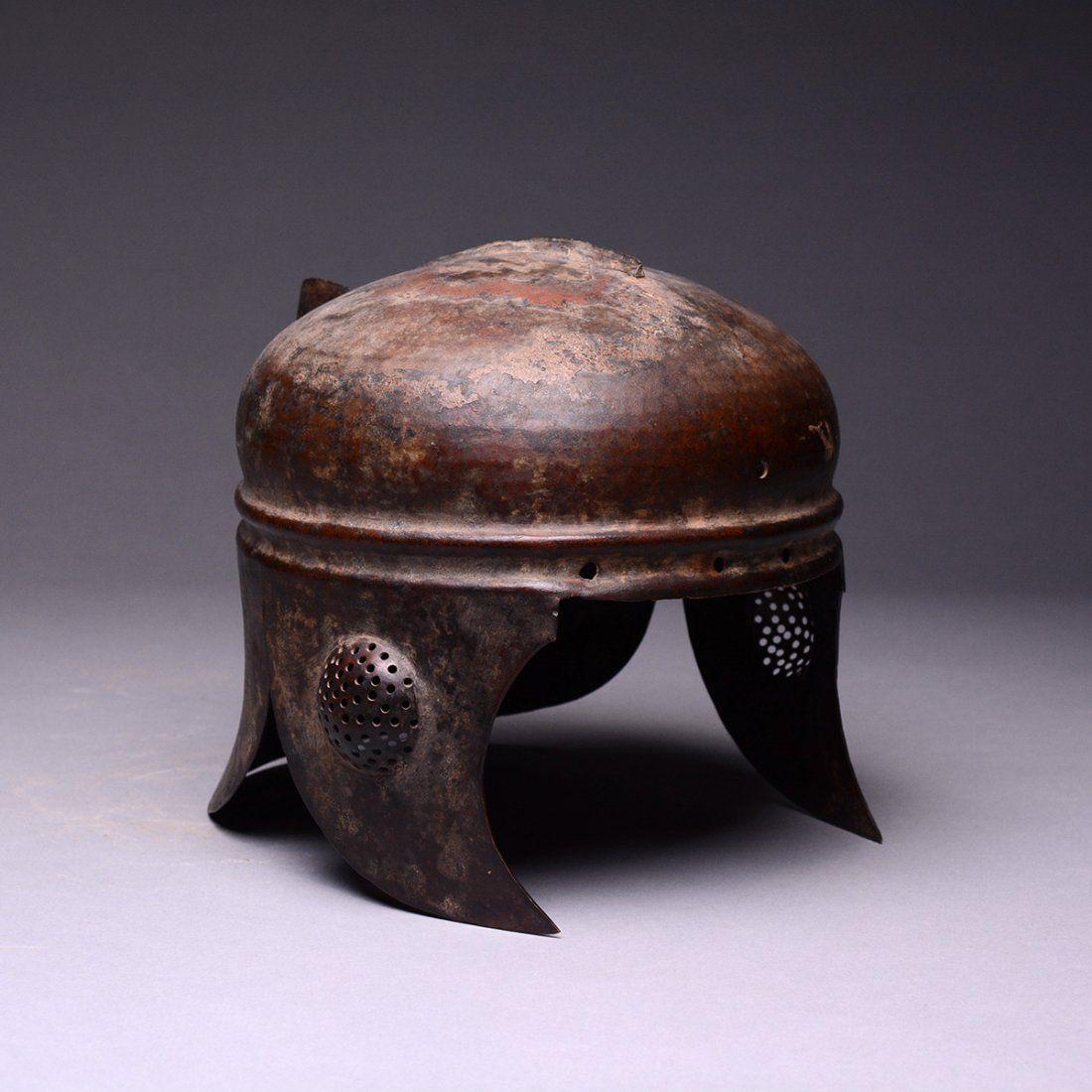 Hellenistic Bronze Helmet.