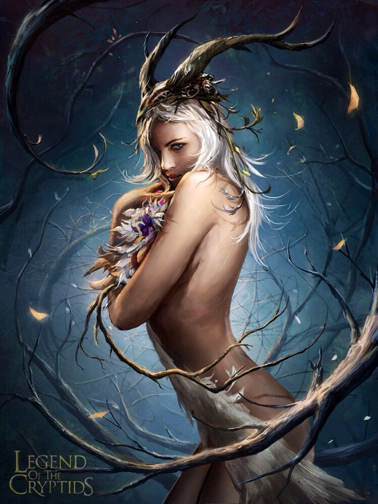 Fantasy Magic Girls Porn - Reina naturaleza legend of the cryptids. Although I have spent most of my…  Find this Pin and more on Fantasy Porn ...