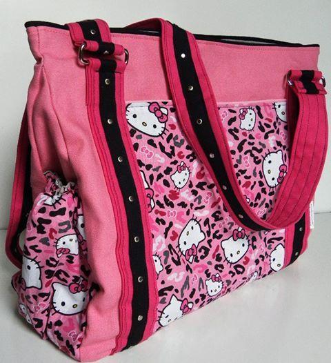 9151efcc34b8 Hello Kitty diaper bag