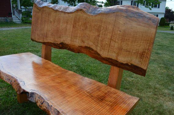 Fabulous Reclaimed Wooden Benches Outdoor Garden Benches Live Edge Machost Co Dining Chair Design Ideas Machostcouk