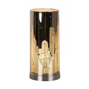Lampe Tactile Argentee New York Lampe Tactile Lamp Deco New York