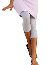 37f079044baa5a Hanes Stretch Cotton Capri Leggings | Clothes, Shoes and other Girly ...