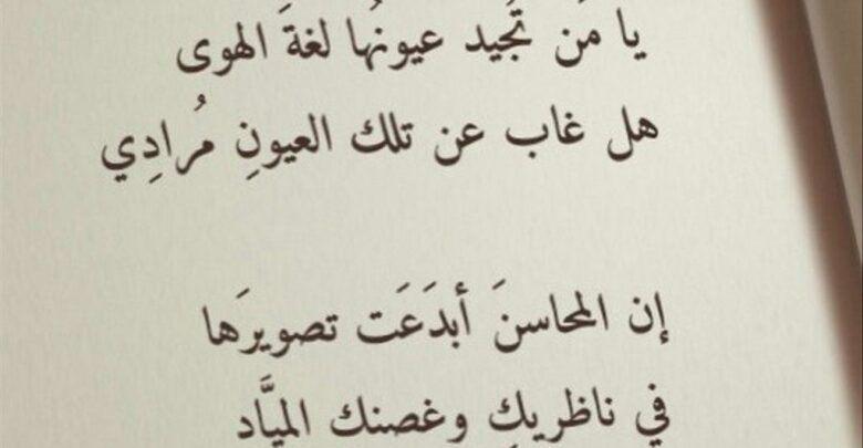 كتابة اشعار عن الحب والعشق والهيام للحبيب Beautiful Words Words Arabic Calligraphy