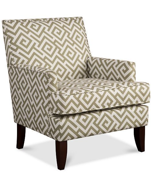 Furniture Kendall Fabric Accent Chair Amp Reviews Chairs