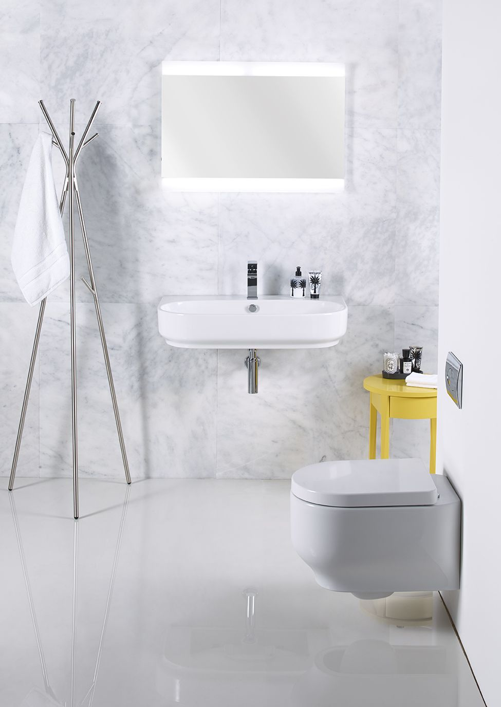 Roper Rhodes Edition 800mm basin and wall hung pan http://www ...