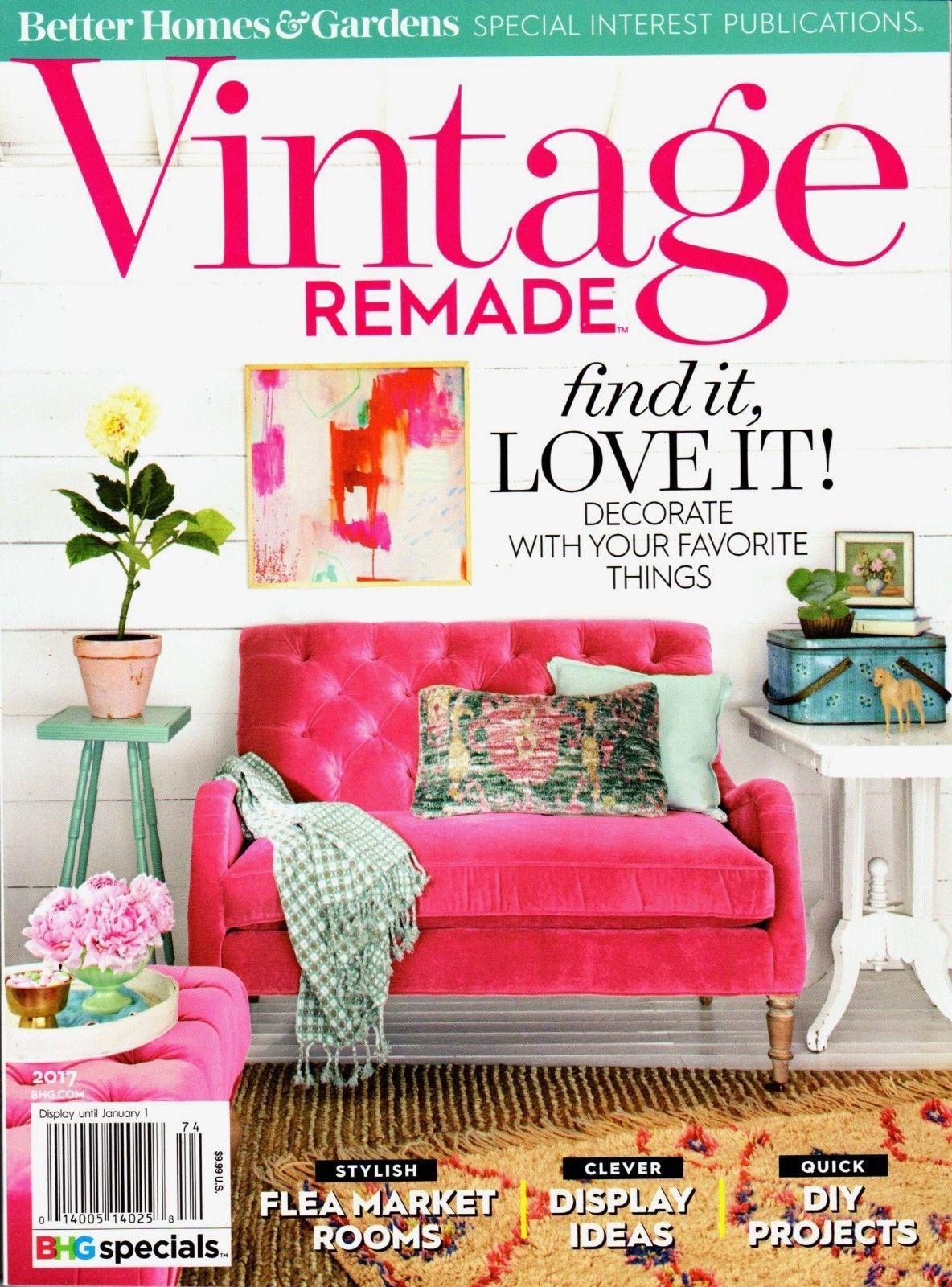 eef3138b21374e5d86ec5e1ea5d909c6 - Better Homes And Gardens Flea Market Style Magazine