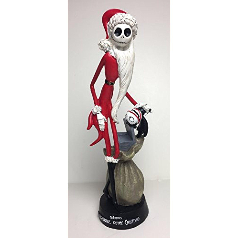 The Nightmare Before Christmas Santa Jack Skellington Statue ...