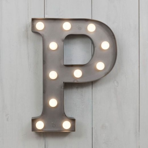 p vegas metal 11 mini led letter lights marquee letters cult uk