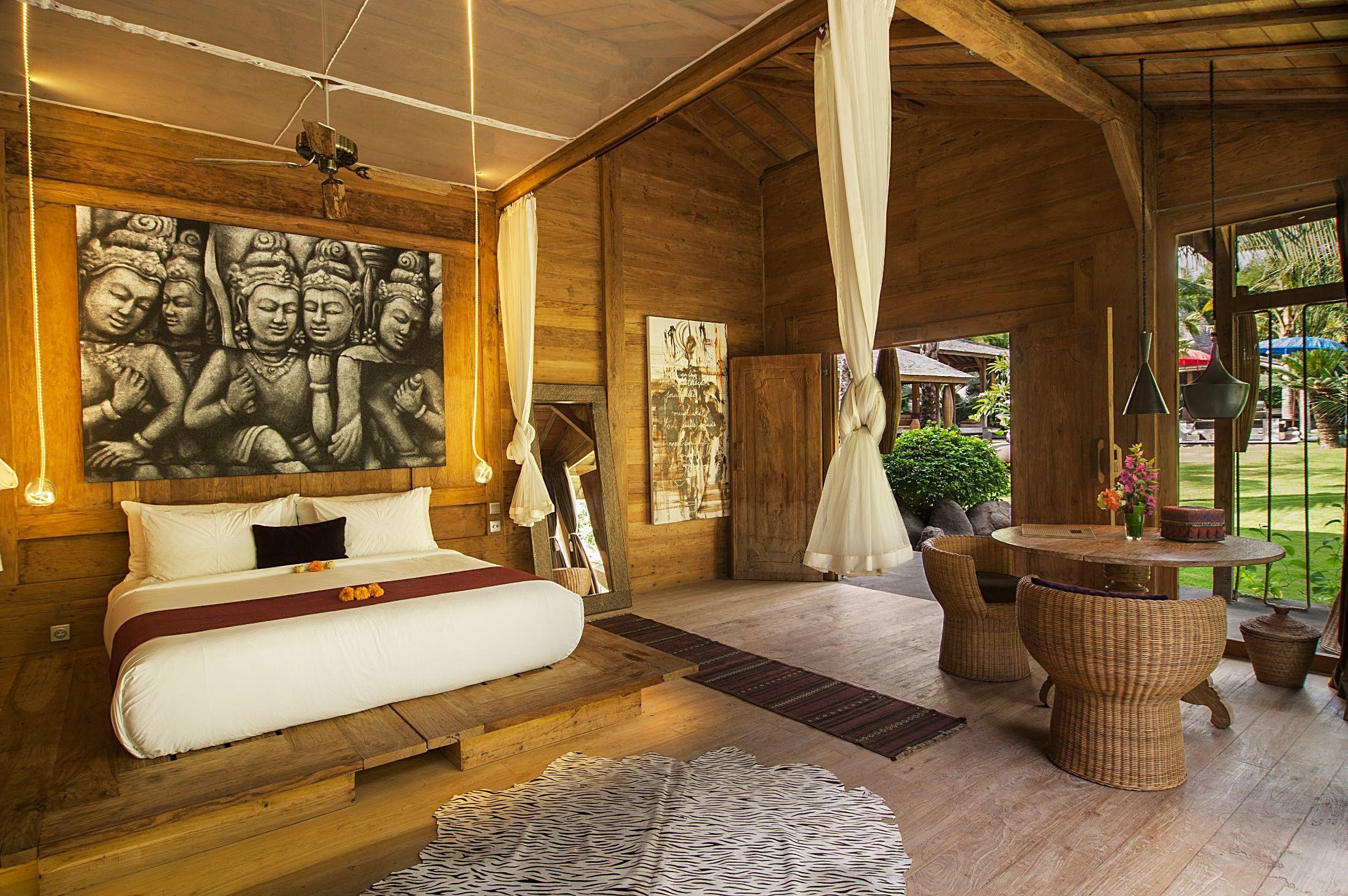 Villa Bali 5 Bedrooms Classic Bali Bedroom Design Bali Bedroom