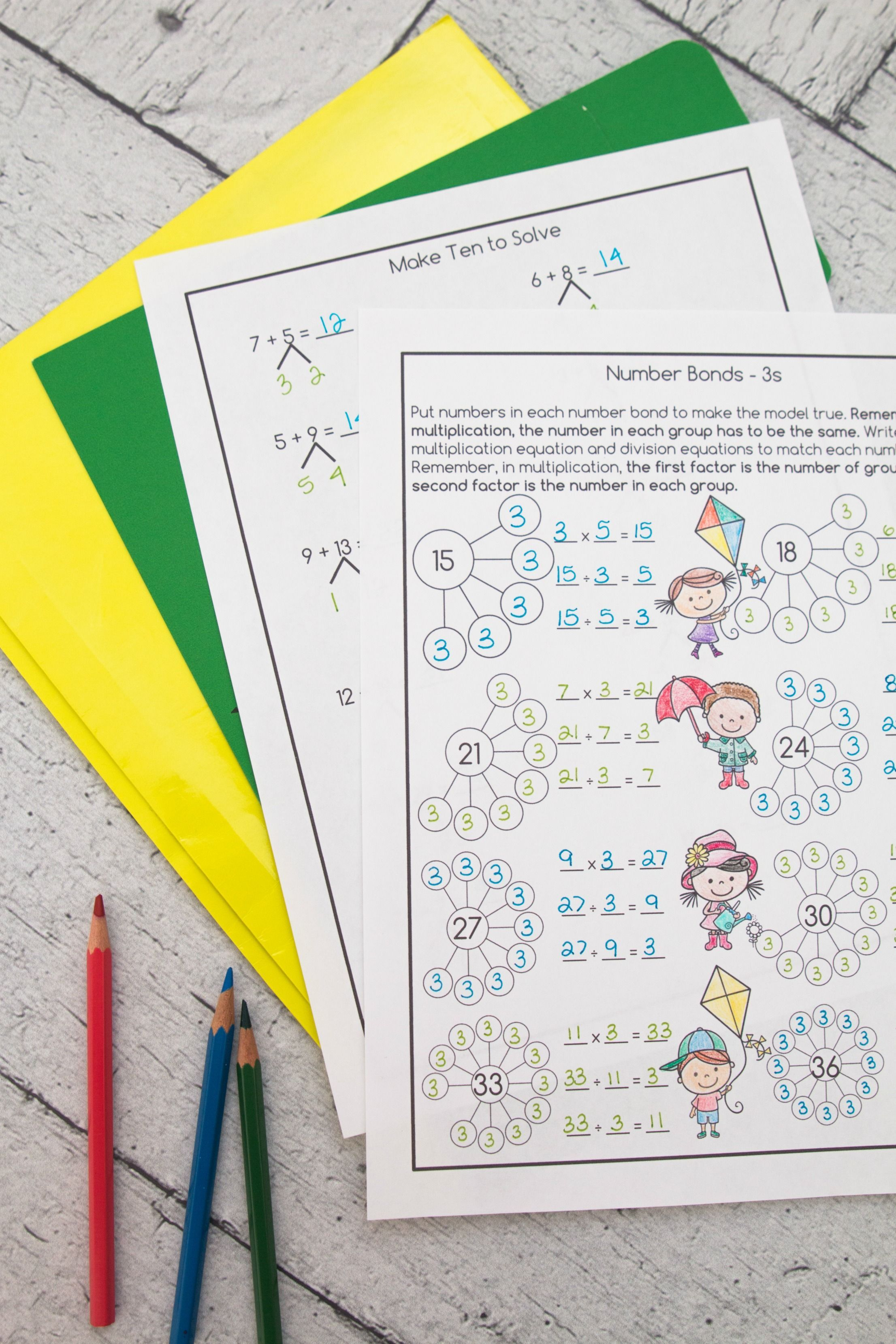 These Worksheets Are Perfect For Multiplication And