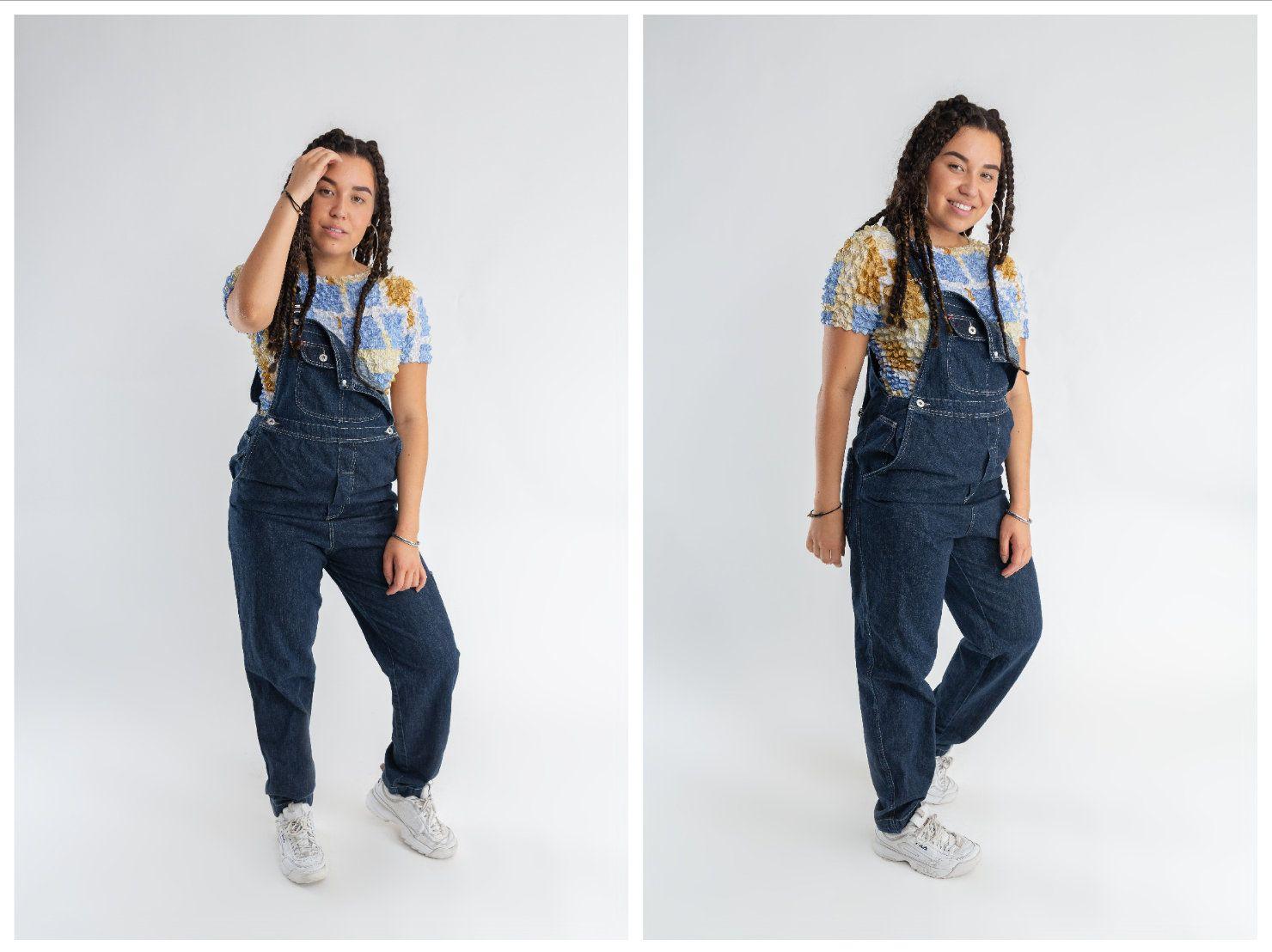 90s Oversized Jeans Dungarees Women S Dark Wash Denim Jumpsuit Men S Long Vintage Denim Overall Rompers Womens Jumpsuit Jumpsuits For Women Jumpsuit Romper