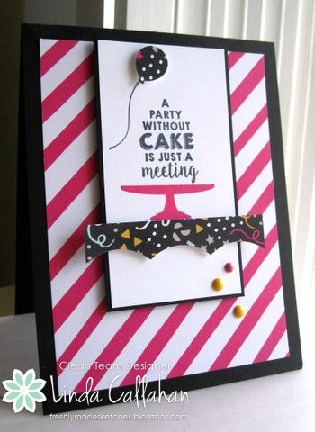 Stampin' Seasons: Gotta Have Cake! FMS230