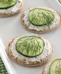 Cucumber Dill Rounds