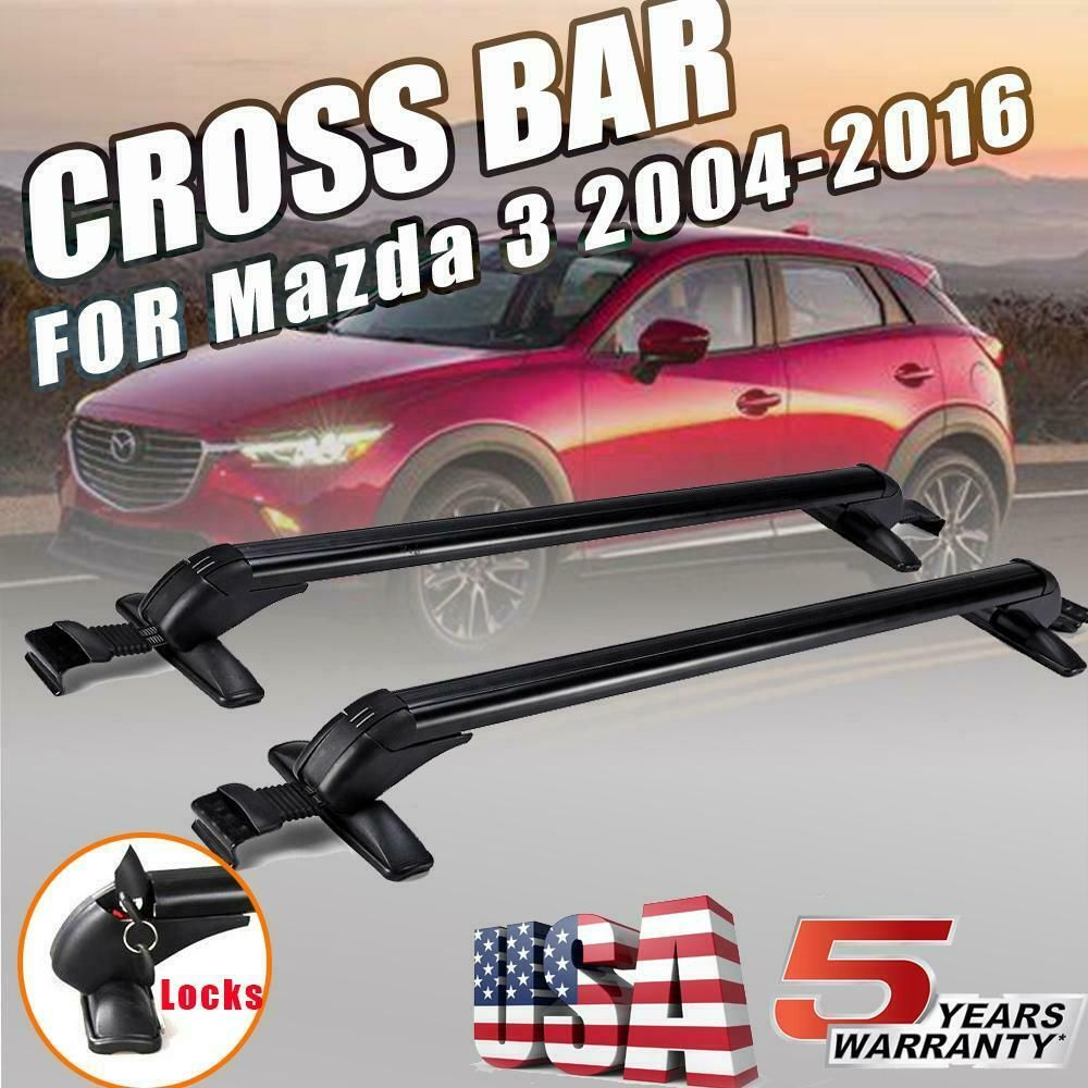 eBay Sponsored 2x Car Roof Rack Luggage Carrier Cross Bar