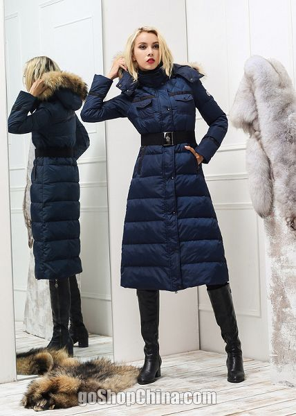 Images of Long Down Winter Coat - Reikian