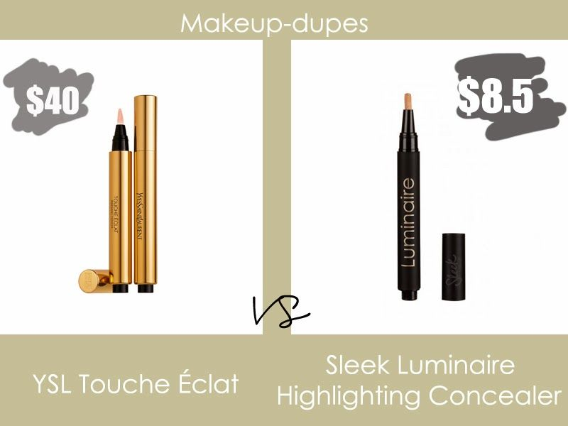 Makeup dupes: concealer