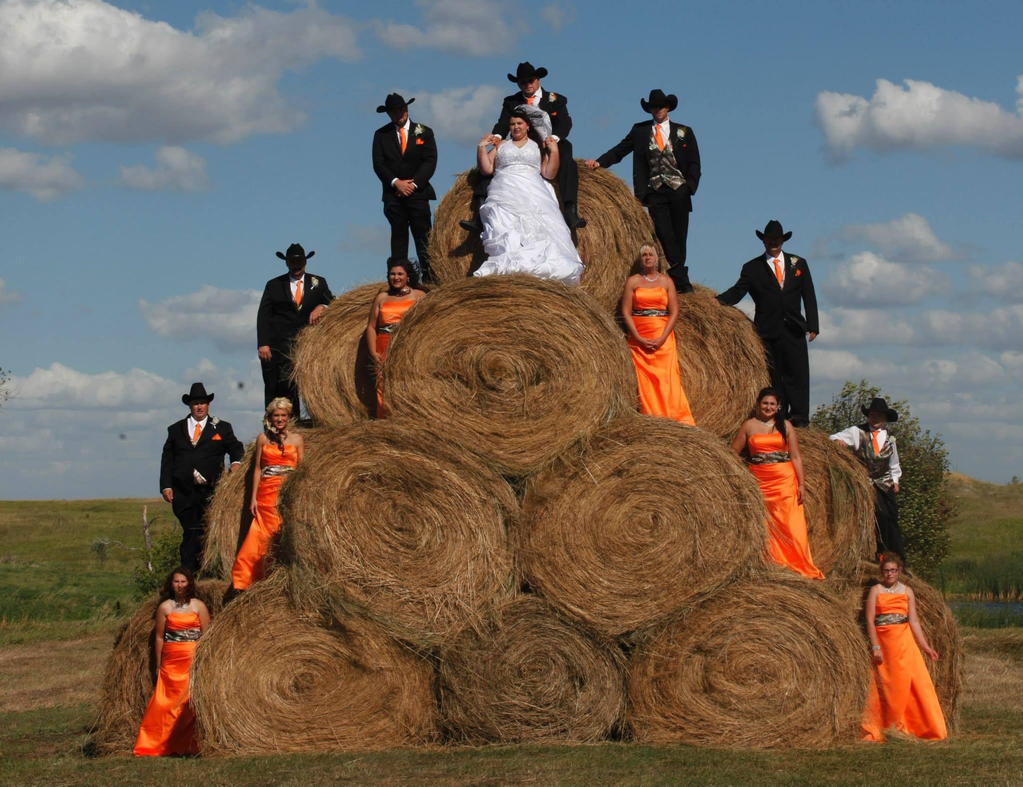 Realtree wedding dresses  Country Orange u Realtree Wedding  Wedding  Pinterest