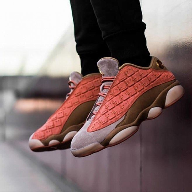 "NEW IN . Clot x Nike Jordan 13 Low ""Terracotta"" Premium Original . Rp.890,000 ...-#* #adidas #celebr..."
