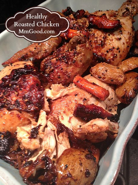 Easy healthy roasted chicken recipes