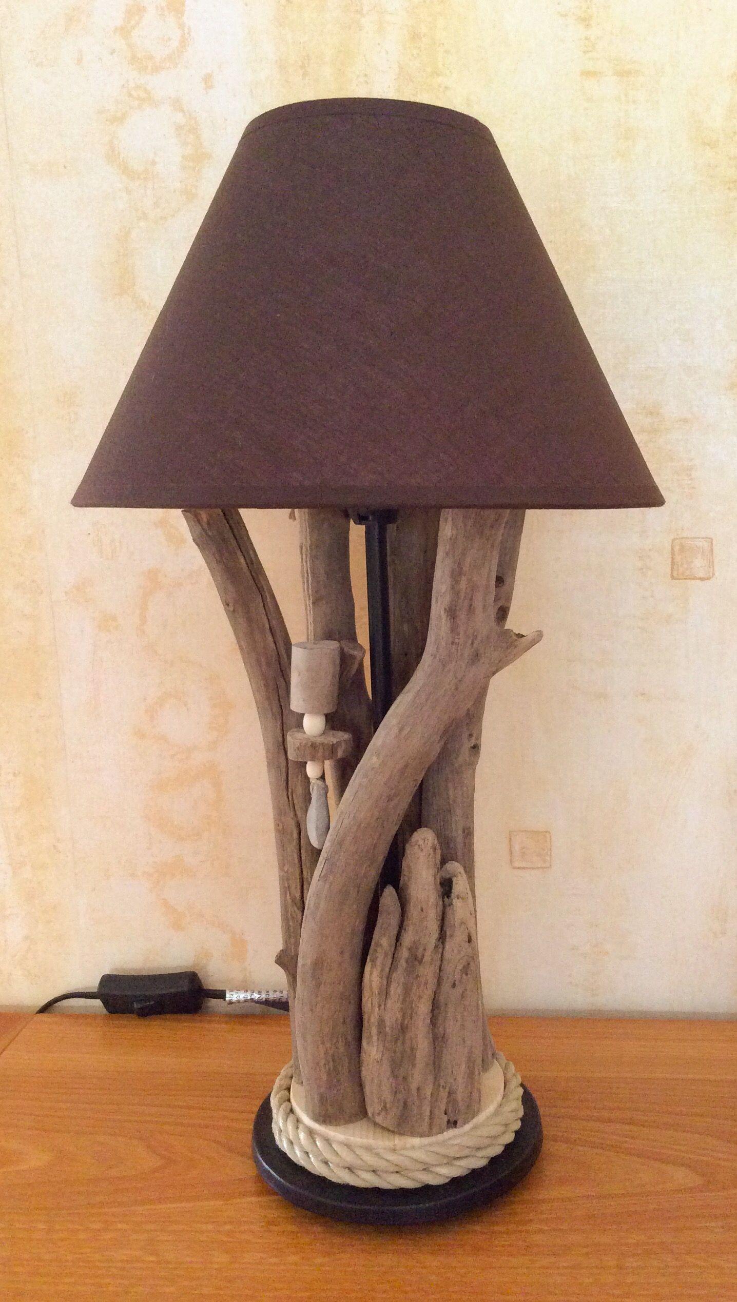 lampbois fikir edin bois lampe bois flott ve bois. Black Bedroom Furniture Sets. Home Design Ideas